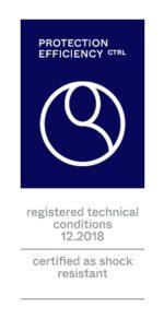 Sello de calidad Etiqueta de calidad Protection efficiency